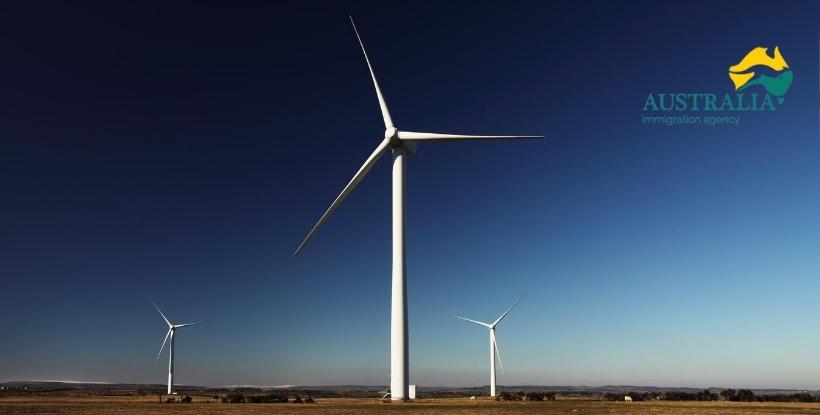 Australia Immigration Agency: Energía Renovable